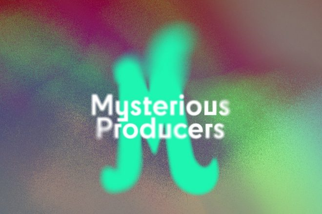 Wonderfruit's Mysterious Producers series gives us an untapped way of listening with our ears & not eyes