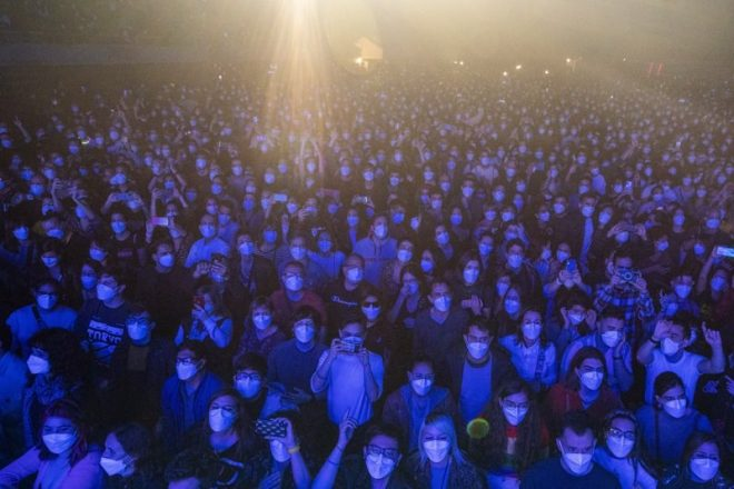 5,000 people have attended a music event in Barcelona with no social distancing