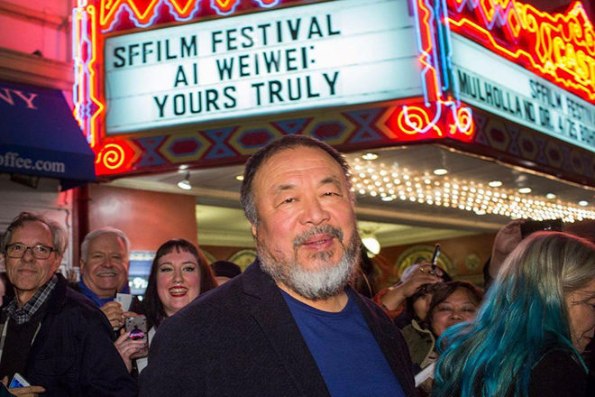 Ai WeiWei is the subject of a new documentary that explores human rights through art
