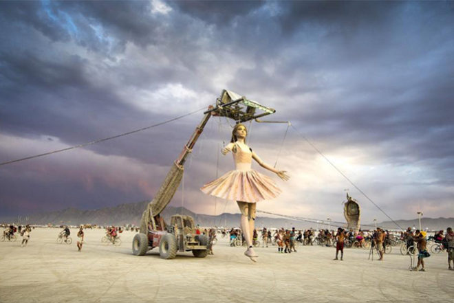 ​Burning Man teases a new documentary called Art Of Fire