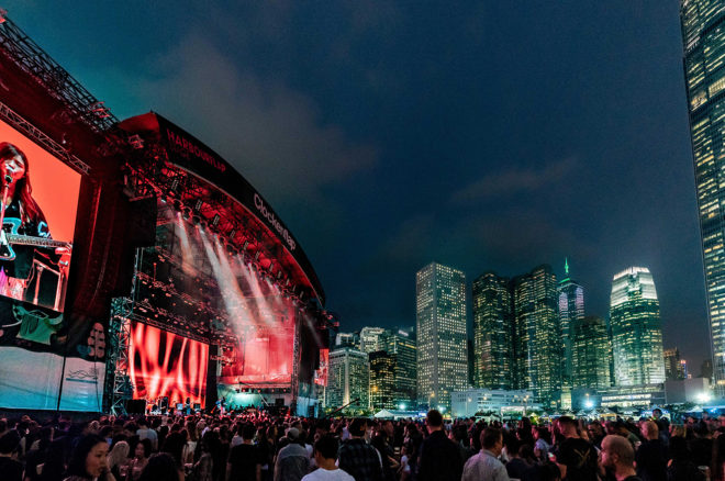 Clockenflap will not be taking place for the second year in a row