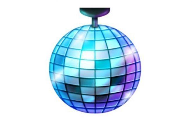 Finally, it looks like a disco ball emoji is coming