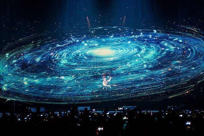 Watch Eric Prydz debut the 'biggest hologram in the world' as part of his 5.0 live show