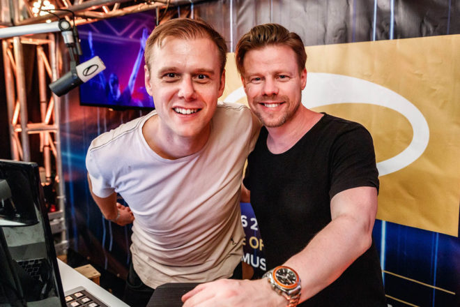 ​Watch Ferry Corsten & Armin Van Buuren go b2b in a rare all-vinyl set of trance classics