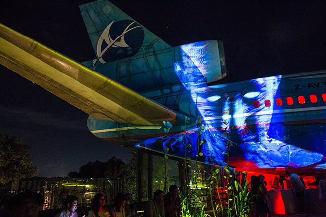 Bali has just opened a club in an abandoned airplane