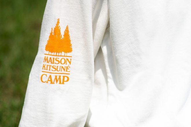 Maison Kitsuné has released a capsule collection geared at the great outdoors
