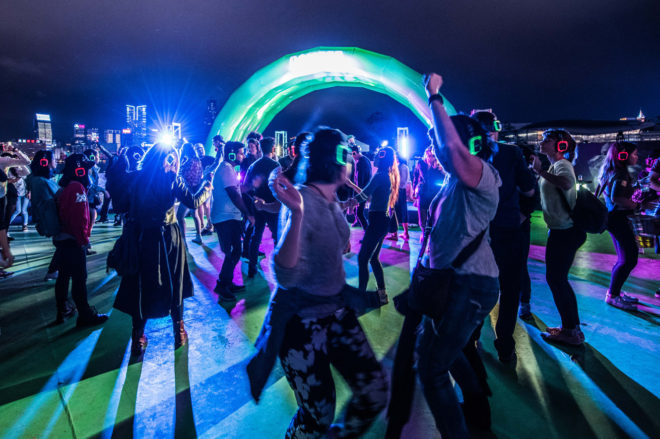 ​Silent Disco to throw a pop-up nightclub in Singapore