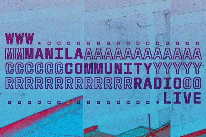 Manila Community Radio officially launches, promising more expansive shows from the Phillippines