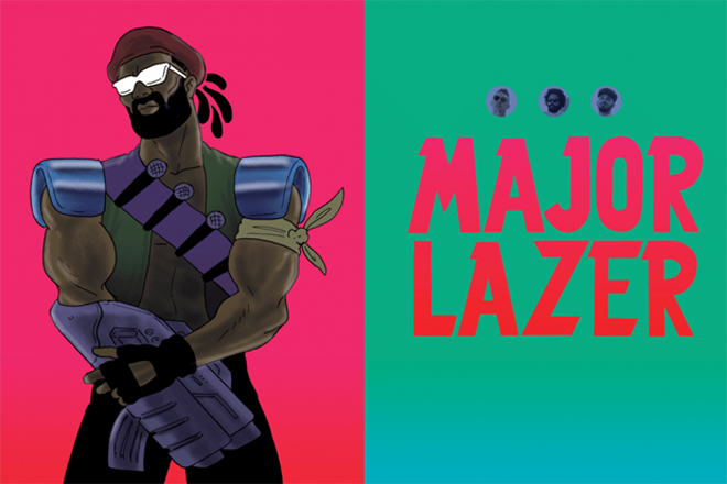 Cover Feature: Major Lazer