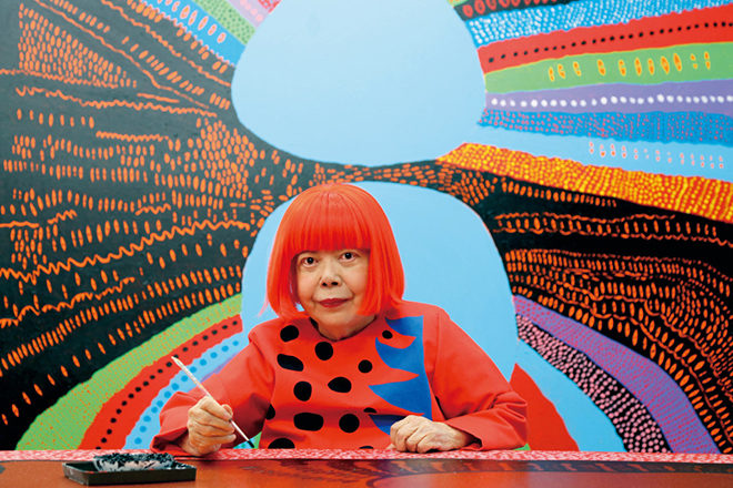 Yayoi Kusama has responded to the global coronavirus crisis with a message of hope & defiance