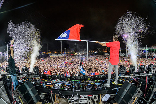 The Chainsmokers, Martin Garrix, Zedd & more head to Taiwan for Road to Ultra