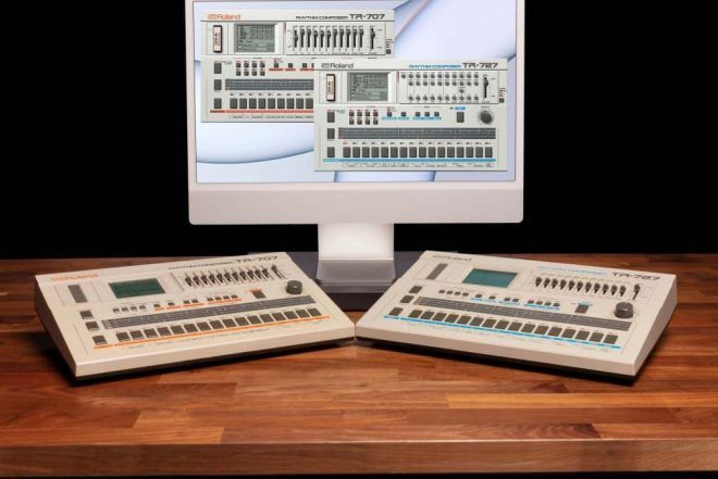 The Roland TR-727 and 707 have been added to the Roland Cloud
