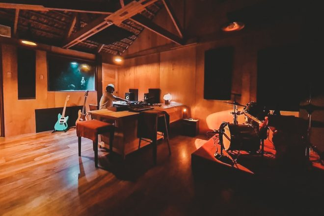 CRWN and St Vincent & the Grenadines open a seaside music studio in the Philippines