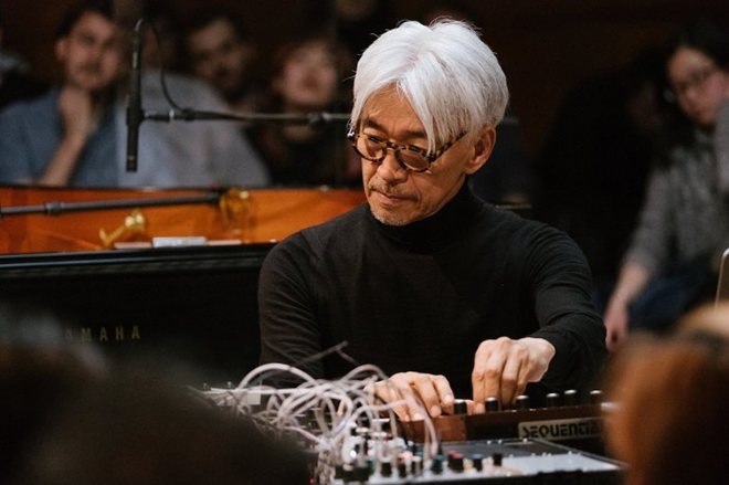 Ryuichi Sakamoto releases another track from his 'incomplete' series for a Festival de Cannes livestream