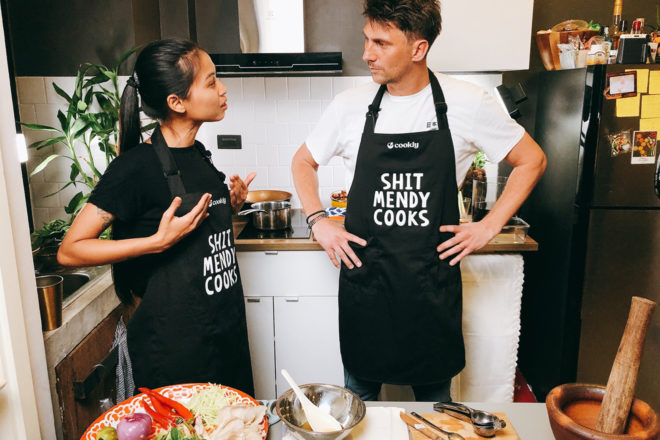 Mendy Indigo hosts Pan-Pot for the premiere of her Thailand-based cooking show