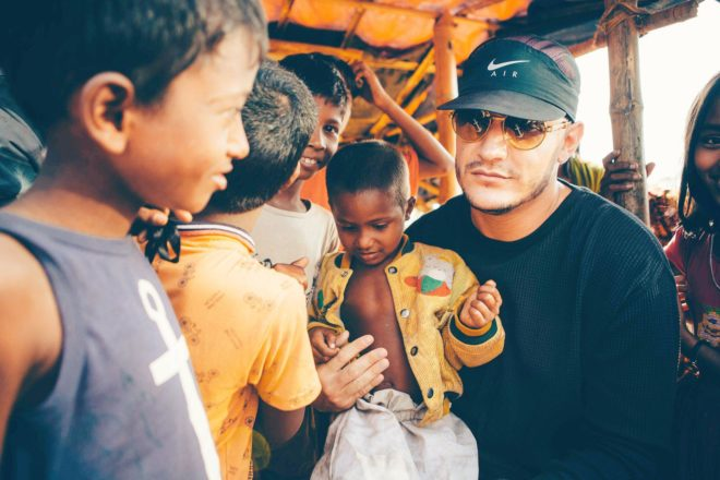 Watch DJ Snake as he visits Bangladesh to raise awareness for the Rohingya refugee crisis