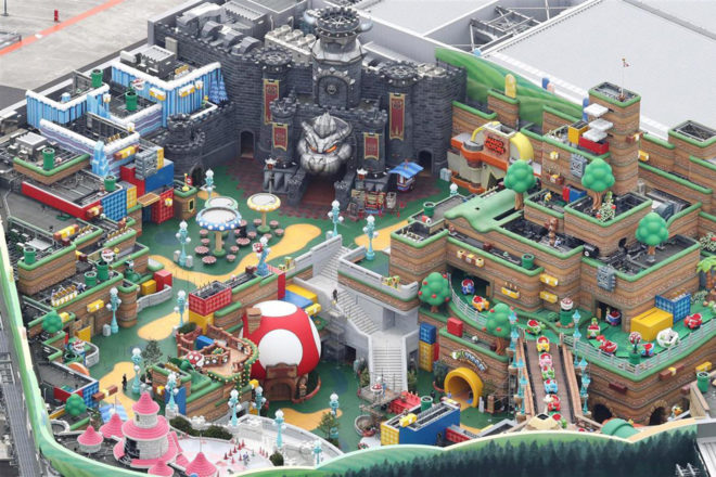 Japan is getting a theme park dedicated to Super Nintendo