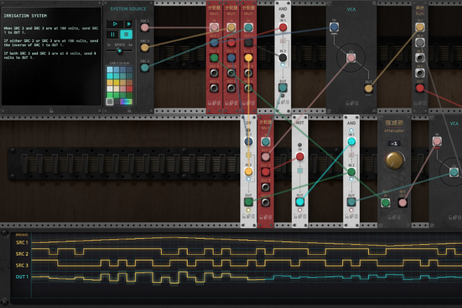The Signal State is a new game that puts your modular synth skills to the test