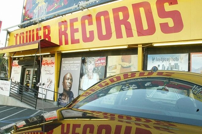 Tower Records is back (online), but in Japan it never left