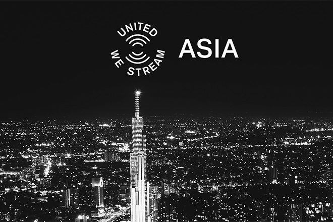 United We Stream Asia launches this weekend with 3 days of programming