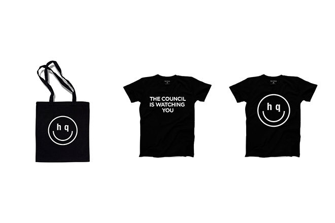 Limited edition tees & totes from Singapore's The Council