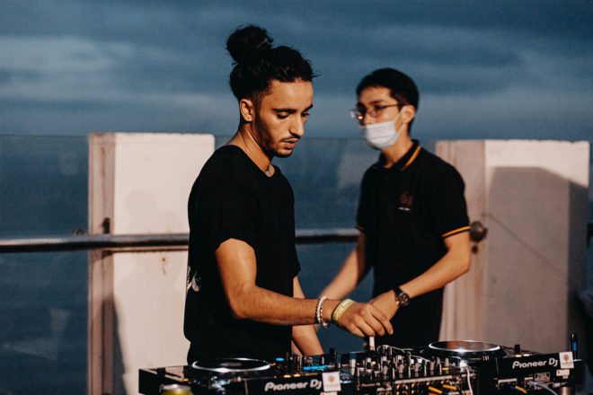Da Nang's first rooftop house & techno series chugs on