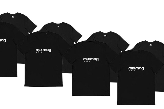 Mixmag Asia drops a first-ever run of t-shirts