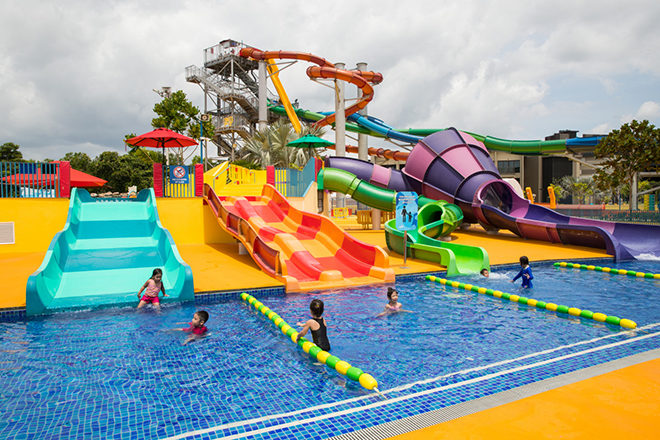 ​Singapore is planning an electronic music festival in a waterpark
