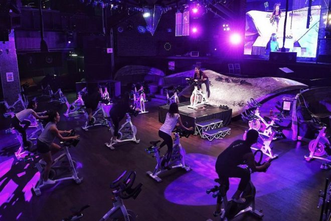 Rhythm cycling meets clubland as Zouk transforms its dance floor into a spin studio