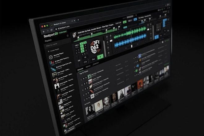 Beatport DJ allows you to mix tunes on your internet browser