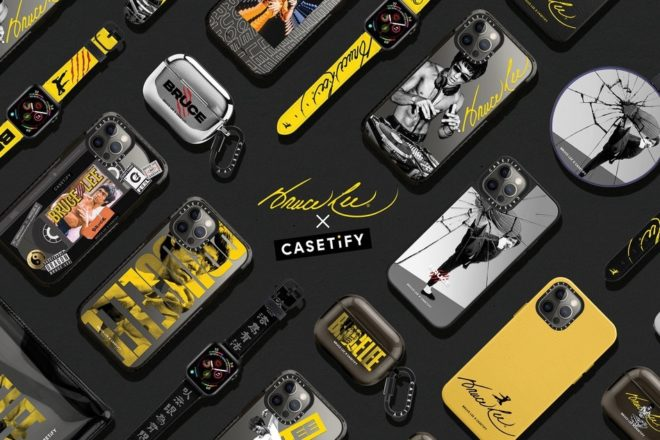 CASETiFY celebrates martial arts master Bruce Lee with its latest drop