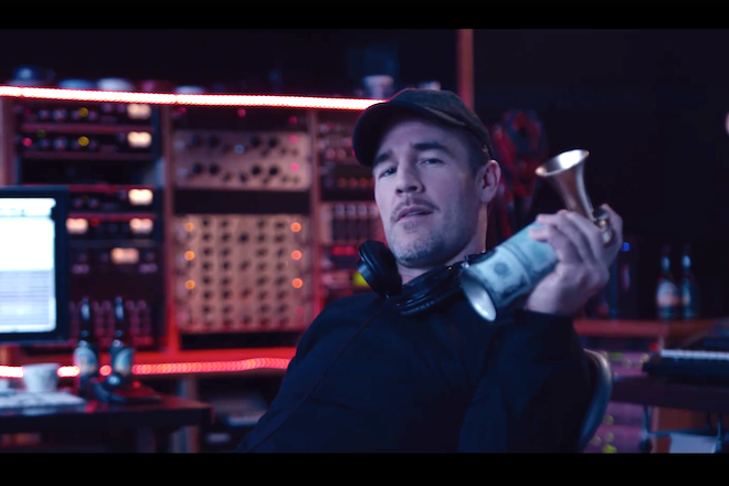 James Van Der Beek will be playing Diplo in a new series