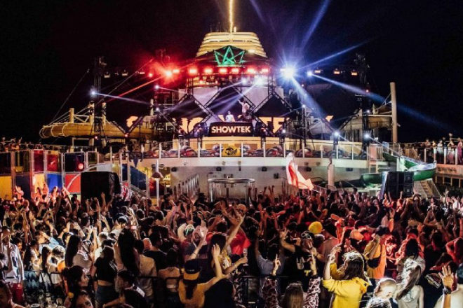 See the wild aftermovie from IT'S THE SHIP's maiden voyage from China