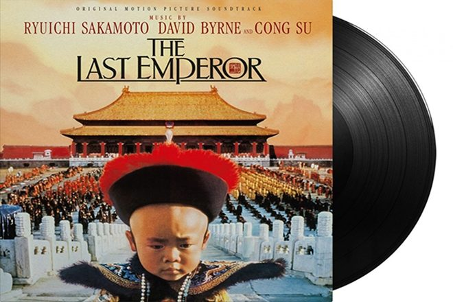 David Byrne, Ryuichi Sakamoto, & Cong Su's score to The Last Emperor is being reissued on vinyl this March