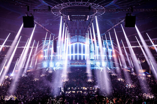 Watch an insane laser show from Transmission, debuting in Thailand next year
