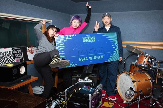 Korean group numnum triumphs as the winner of Vans Musicians Wanted 2020