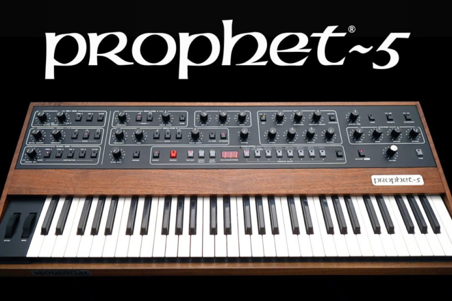 The new Prophet-5 will take you back to the future