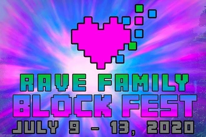 Rave Family Block Fest boasts a line-up of over 950 artists