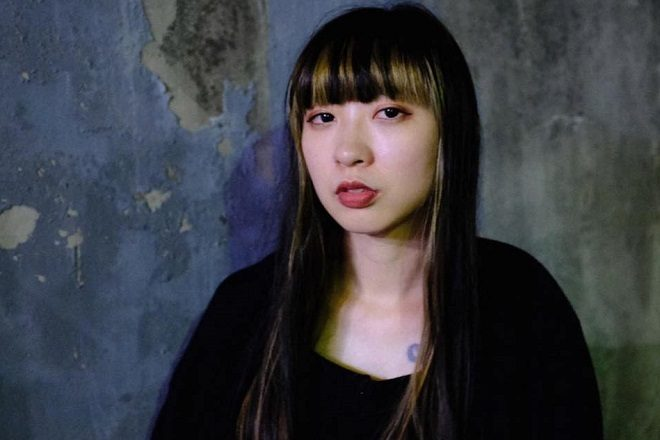 Risa Taniguchi keeps up the pressure on her latest pouding techno effort
