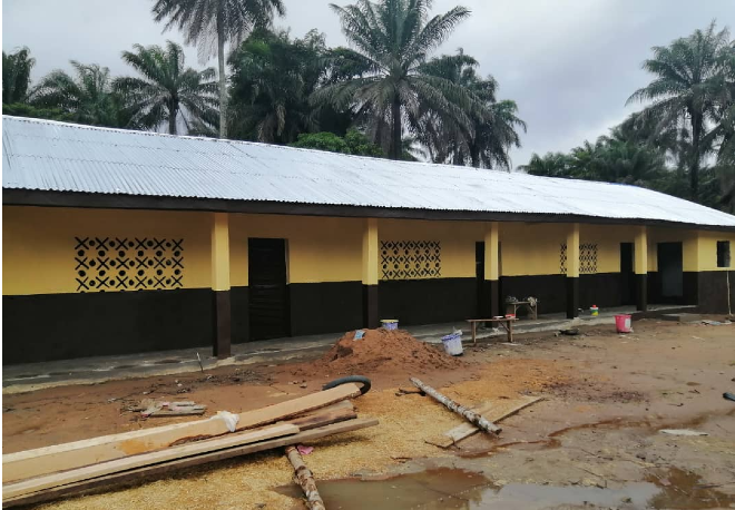 An electronic record label has opened a school in Sierra Leone