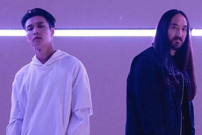 Steve Aoki, Lay Zhang & will.i.am link up for 'Love You More'