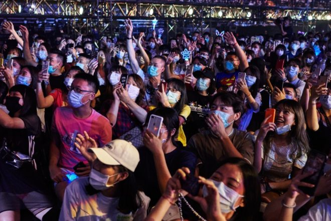 Hard work pays off as Taiwan hosts its first 10,000 capacity live show since the pandemic