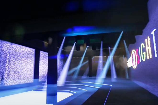 Enter Lawrence Lek's dystopian neon nightclub via his new release 'Temple OST'