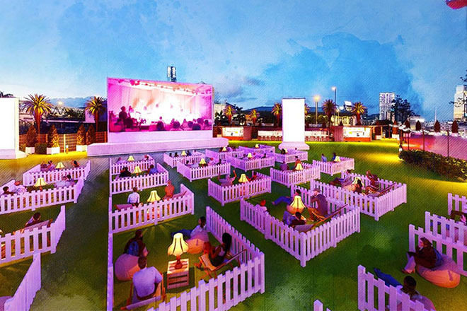 Hong Kong announces social distancing outdoor venue for large events