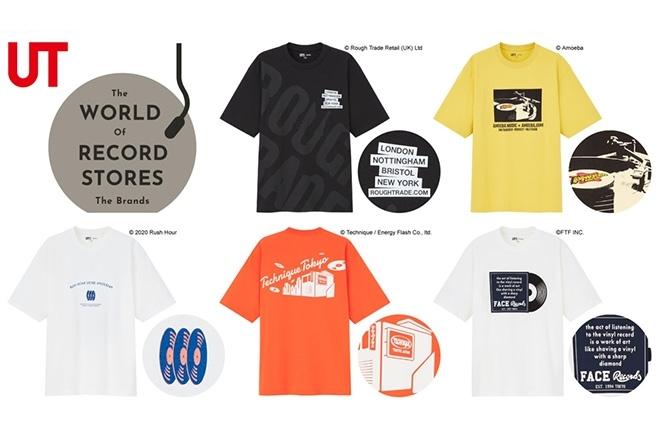 Face Records, TECHNIQUE, Rush Hour, Rough Trade & Amoeba Music collaborate with UNIQLO