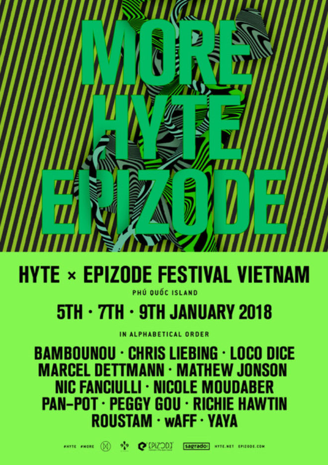 HYTE announces a stage at Epizode², adds Richie Hawtin