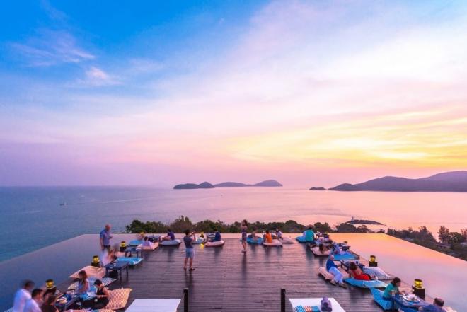 Sri panwa: Decadence and debauchery at a luxury hotel in Thailand spirited by underground music