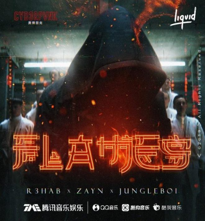 R3HAB releases 'Flames' exclusively on Liquid State in China